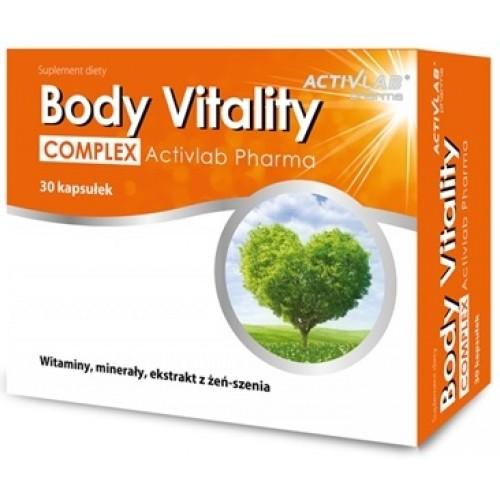 ActivLab BODY VITALITY Complex Multivitamine - 30 Capsule