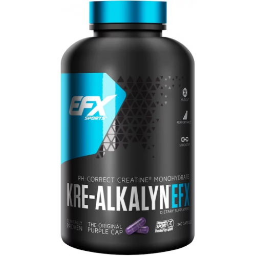 All American EFX Creatina Kre-Alkalyn EFX -  240 Capsule