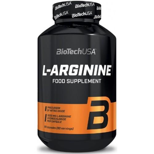 BiotechUSA L-Arginina - 90 Capsule