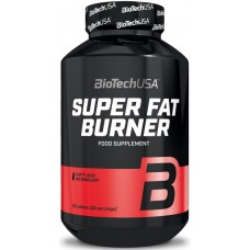 BiotechUSA Super Fat Burner - 120 Tablete