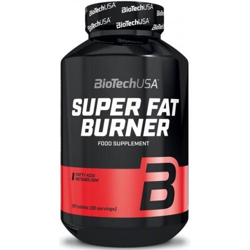 BiotechUSA Super Fat Burner - 120 Tablete