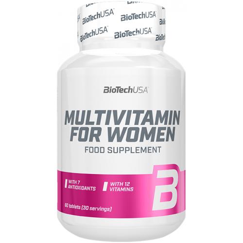 BiotechUSA Multivitamine pentru Femei - 60 Tablete
