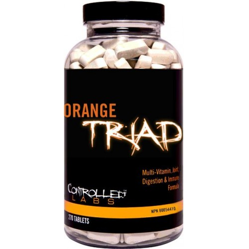 Controlled Labs Orange Triad VItamine si Minerale - 270 Tablete