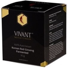 LaVivant Extract Pur de Ginseng Rosu Korean Fermentat 80mg/g ginsenozide - 30g