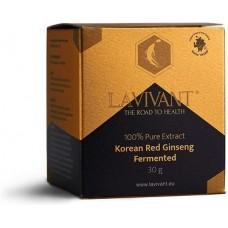LaVivant Extract Pur de Ginseng Rosu Korean Fermentat 110mg/g ginsenozide - 30g