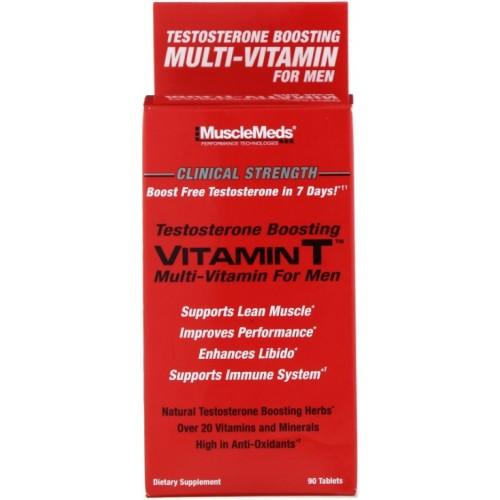 MuscleMeds Vitamin T Multi-Vitamine pentru Barbati - 90 Tablete