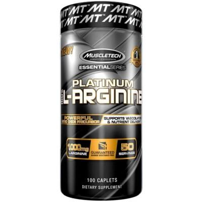 Muscletech Platinum L-Arginina HCI - 100 Capsule
