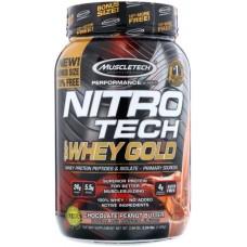 MuscleTech Nitro-Tech 100% Whey Gold - 1.13 Kg Chocolate