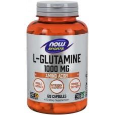 NOW L-Glutamina 1000mg - 120 Capsule