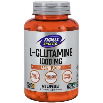 NOW L-Glutamina 1000mg - 120 Capsule