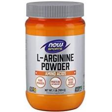 NOW L-Arginina - 454g