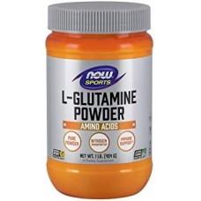 NOW L-Glutamina - 454g