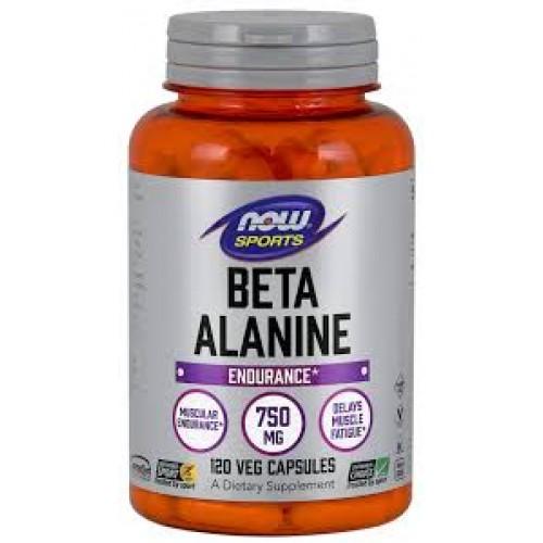 NOW Beta-Alanina 750mg - 120 Capsule