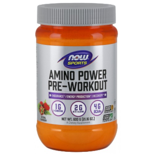 NOW Amino Power Pre-Workout - 600g