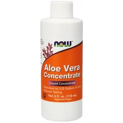 NOW Aloe Vera Concentrat Non-GMO - 118ml