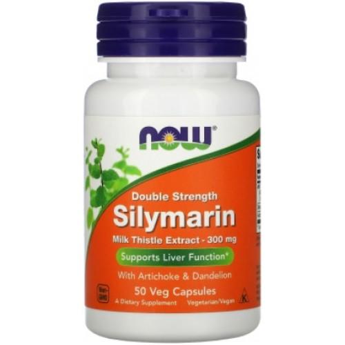 NOW Double Strength Silymarin 300 mg