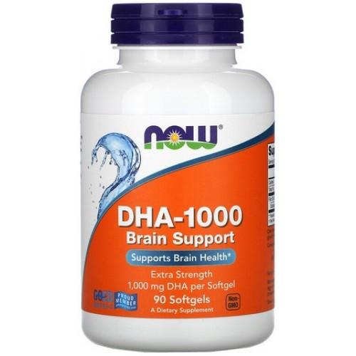NOW DHA 1000mg - 90 Softgels