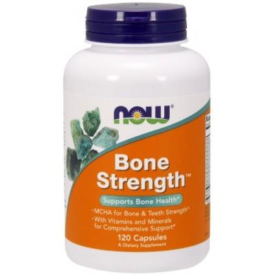 NOW Bone Strength, Sanatatea oaselor - 120 Capsule