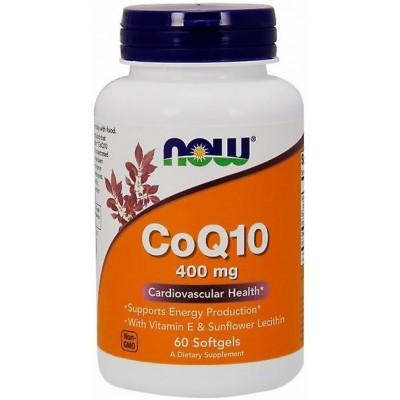 NOW Coenzima Q10 400mg - 60 Softgels