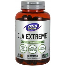 NOW CLA Extreme cu Guarana si Ceai verde - 90 Softgels