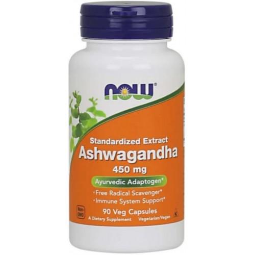 NOW Ashwagandha 450mg - 90 Capsule vegetale