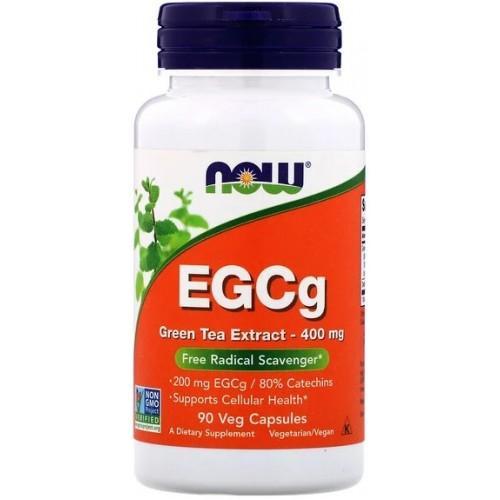 NOW EGCg Green Tea Extract 400 mg - 90 Capsule vegetale