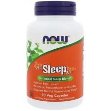 NOW SLEEP, Amestec de plante pentru somn cu Valeriana, Fructul Pasiunii si Gaba - 90 Casule Vegetale