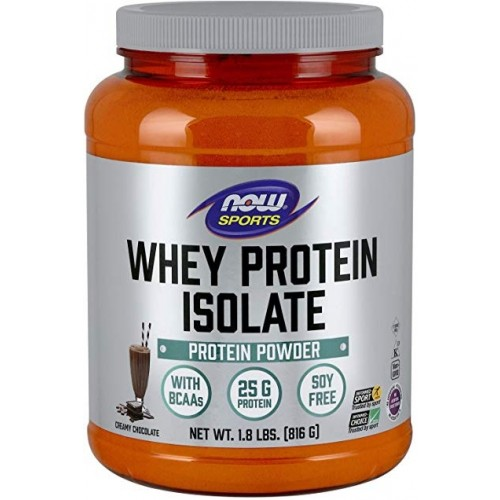 NOW Whey Protein Isolate Chocolate - 816g
