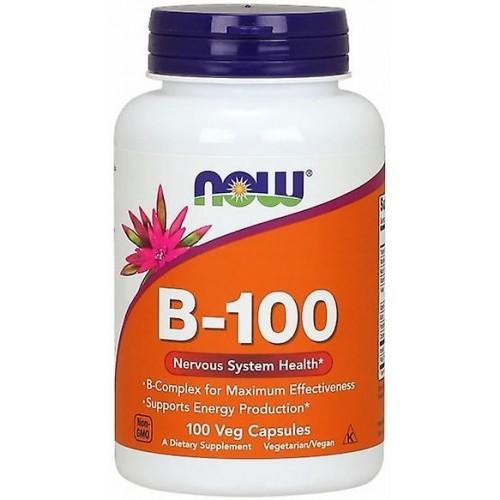 NOW FOODS Vitamina B-100