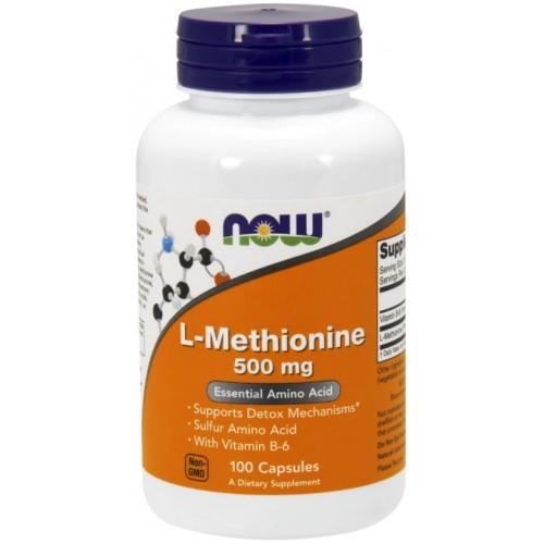 NOW FOODS L-Methionine 500 mg