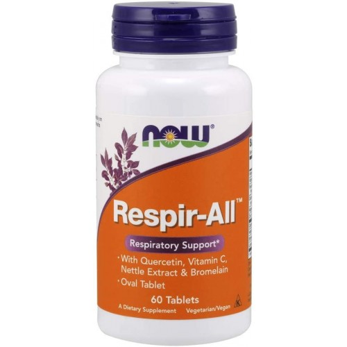 NOW RESPIR-ALL ALLERGY - 60 Tablete