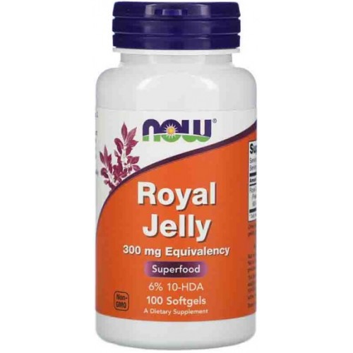 NOW ROYAL JELLY 300mg - 100 Softgels