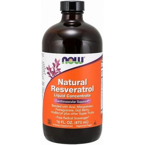 NOW Resveratrol liquid