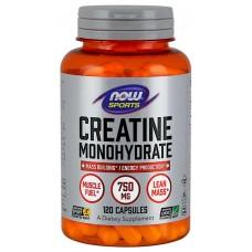 NOW Creatina Monohidrata - 120 Capsule