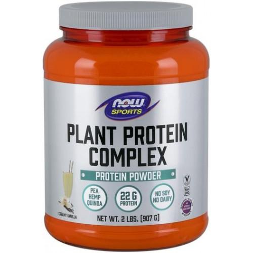 NOW Complex de Proteine din Plante Non-GMO - 907g