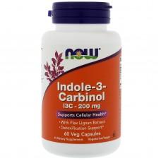 NOW Indole-3-Carbinol (I3C) 200mg - 60 Capsule vegetale