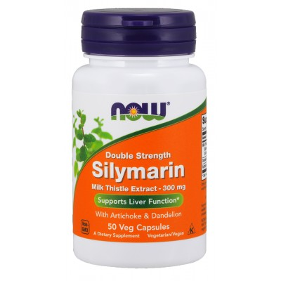 NOW Silimarina 300mg - 100 Capsule vegetale