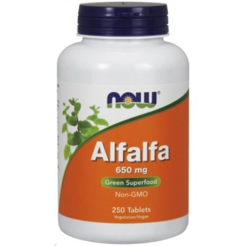 NOW Alfalfa 650mg