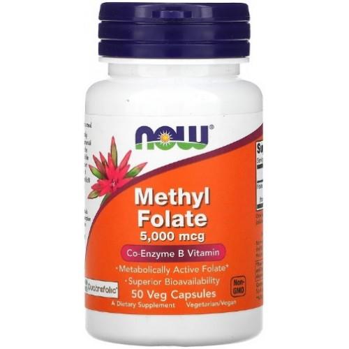 NOW Methyl Folate 5000 mcg