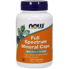 Now Full Spectrum Minerals - 120 Capsule