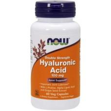 NOW Acid Hialuronic 100mg - 60 Capsule vegetale