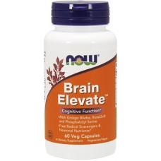 NOW Brain Elevate Formula - 60 Capsule vegetale
