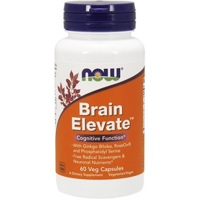 NOW Brain Elevate Formula - 60 Capsule vegetale