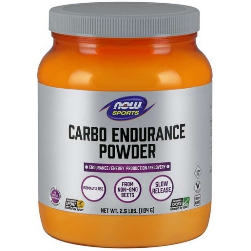 NOW Carbo Endurance Powder (Izomaltuloza) - 1134g