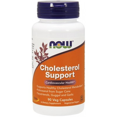 NOW Cholesterol Support - 90 Capsule vegetale