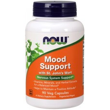 NOW Mood Support cu Extract de St. John's Wort - 90 Capsule vegetale
