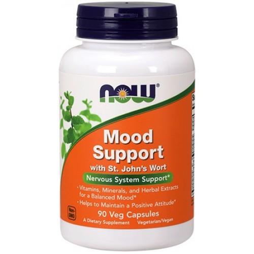 NOW Mood Support cu Extract de St. John's Wort - 90 Capsule vegetale