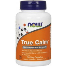 NOW True Calm Amino Relaxer- 90 Capsule vegetale