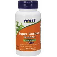 NOW Super Cortisol Support - 90 Capsule vegetale