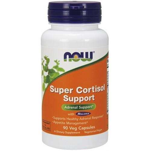 NOW Super Cortisol Support - 90 Capsule vegetale